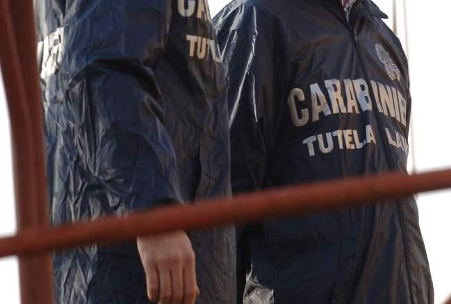 Guardia Lombardi - Area di 500mq sottoposta a sequestro per la presenza di rifiuti